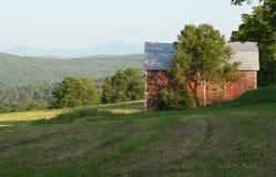 Granero de Vermont Imágenes de archivo libres de regalías