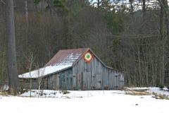 Granero del edredón de la estrella ardiente Fotografía de archivo libre de regalías