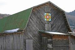 Granero del edredón de la estrella de Carolina del Norte Fotografía de archivo libre de regalías