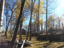 Granero del otoño fotos de archivo