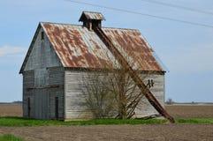 Granero del pesebre del maíz Foto de archivo libre de regalías