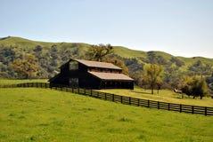 Granero del rancho imagenes de archivo
