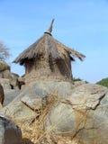 Granero en África Imagen de archivo libre de regalías