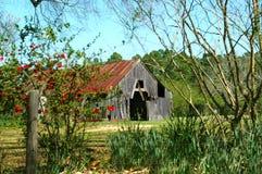 Granero en el país Backroad Imagen de archivo