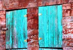 Granero en New México Foto de archivo libre de regalías