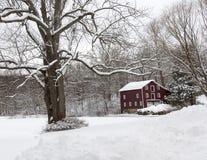 granero histórico de 19 siglos en NJ Fotografía de archivo