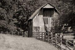 Granero patriótico imagen de archivo