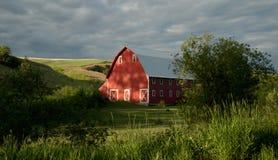 Granero rojo Fotografía de archivo libre de regalías