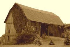 Granero viejo Fotos de archivo libres de regalías