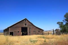 Granero viejo de la granja Fotos de archivo libres de regalías