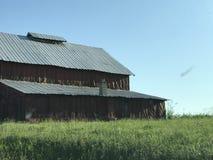 Granero viejo del tabaco en Tennessee Fotos de archivo