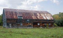 Granero viejo en Canadá Fotos de archivo