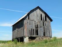 Granero viejo en el Estado de Nueva York del condado de Cayuga Fotos de archivo libres de regalías