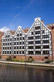 Graneros en Gdansk Foto de archivo libre de regalías