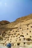 Graneros históricos Karaman/Turquía de Taskale Foto de archivo