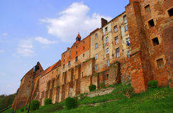 Graneros medievales góticos Foto de archivo