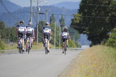GranFondo Fraser Valley Cycling Competition Imagem de Stock
