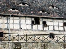 Grange à colombage en Allemagne Image stock
