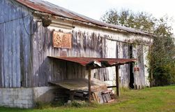 Grange abandonnée Images libres de droits