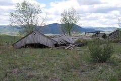 Grange abandonnée Photo libre de droits