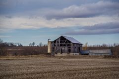 Grange abandonnée Photographie stock libre de droits