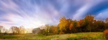 Grange d'Autum, Madison, WI, Etats-Unis photo stock