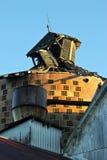 Grange de émiettage Photo stock