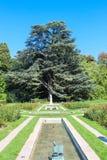 Grange de La de parc, Genève Photo libre de droits