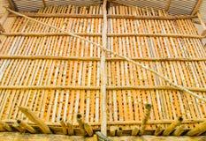 Grange de maïs Images stock