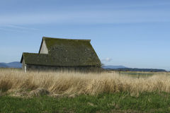 Grange de vallée de Skagit Image stock