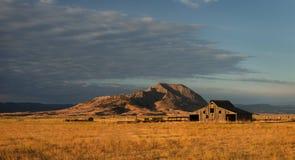Grange du Dakota photographie stock