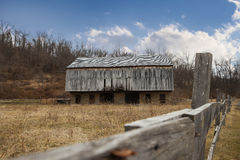 Grange en bois Photographie stock