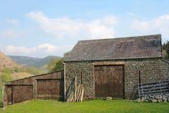 Grange en pierre antique Photographie stock libre de droits