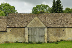 Grange en pierre de Cotswold Tythe Images libres de droits