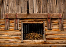 Grange Hay Loft Door photo libre de droits