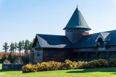 Grange historique de ferme Photographie stock