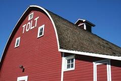 Grange historique de Tolt Image stock