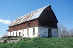 grange Iowa Image libre de droits