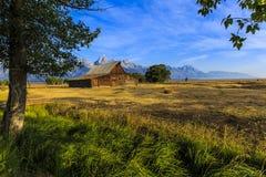 Grange Jackson Hole, Wyoming de Moulton photographie stock libre de droits