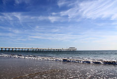 Grange Jetty, Adelaide, Australia Royalty Free Stock Photo
