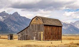 Grange mormone Photos libres de droits