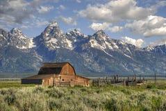 Grange mormone Image libre de droits