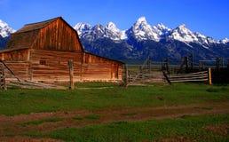 Grange mormone 3 Photos libres de droits