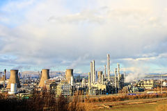 Grangemouth Oil Refinery Stock Photo