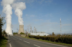 Grangemouth petro-chemical plant Stock Photos