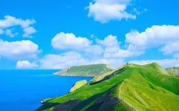grani błękitny halny morze Fotografia Royalty Free