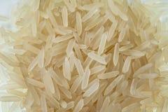 Grani del primo piano del riso del gelsomino immagini stock