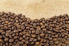Grani di caffè Fotografie Stock