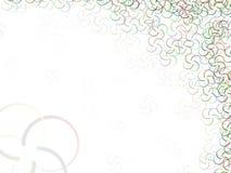 Grani ovali astratti di colore del fondo Fotografia Stock Libera da Diritti