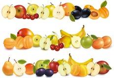 granic projekta owoc trzy Obraz Stock